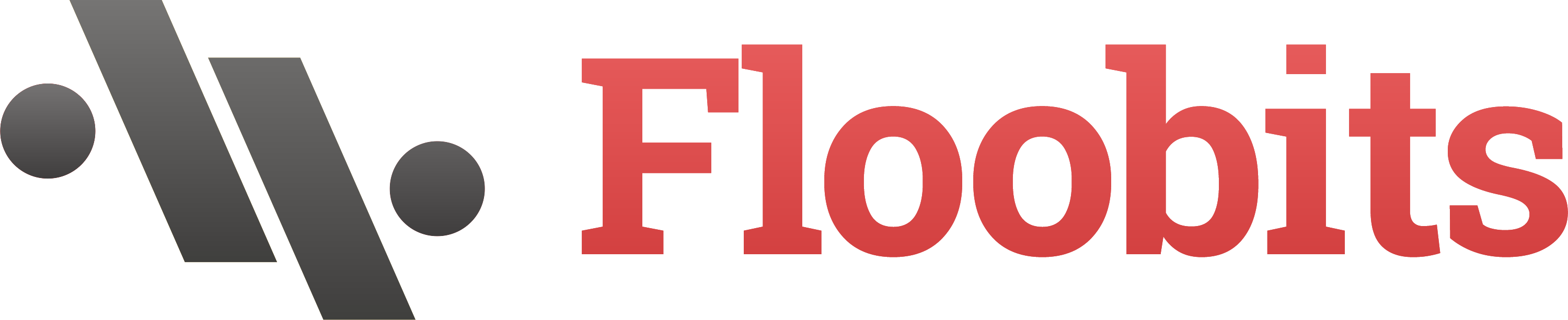 Floobits logo with name